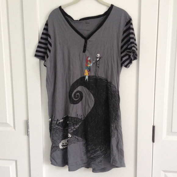 Nightmare Before Christmas Night Gown